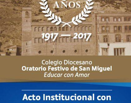 CENTENARIO: Acto Institucional