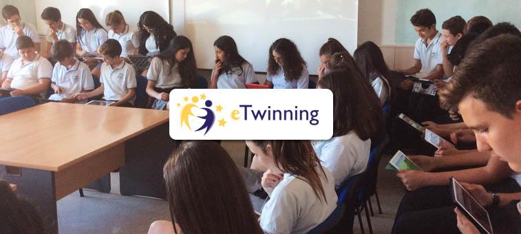 "Proyecto europeo "" Interraíl "" de eTwinning"