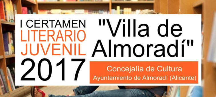 "I Certamen Literario Infantil 2017 ""Villa de Almoradí"""