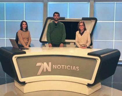Visita a la 7 T.V. Región de Murcia y el Mudem