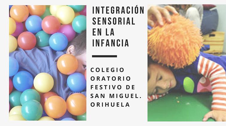 NUEVA ACTIVIDAD: Integración sensorial en el colegio