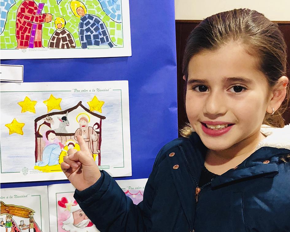 Andrea Ibarra premiada en el XI concurso de tarjetas y postales navideñas