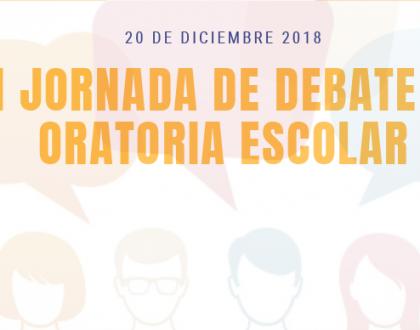 """Celebración la """"II Jornada de debate y oratoria escolar"""""""
