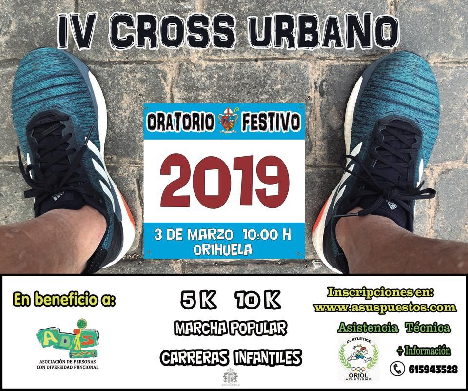 El Colegio Oratorio Festivo celebra su IV Cross Urbano solidario y Día de la Familia el 3 de marzo
