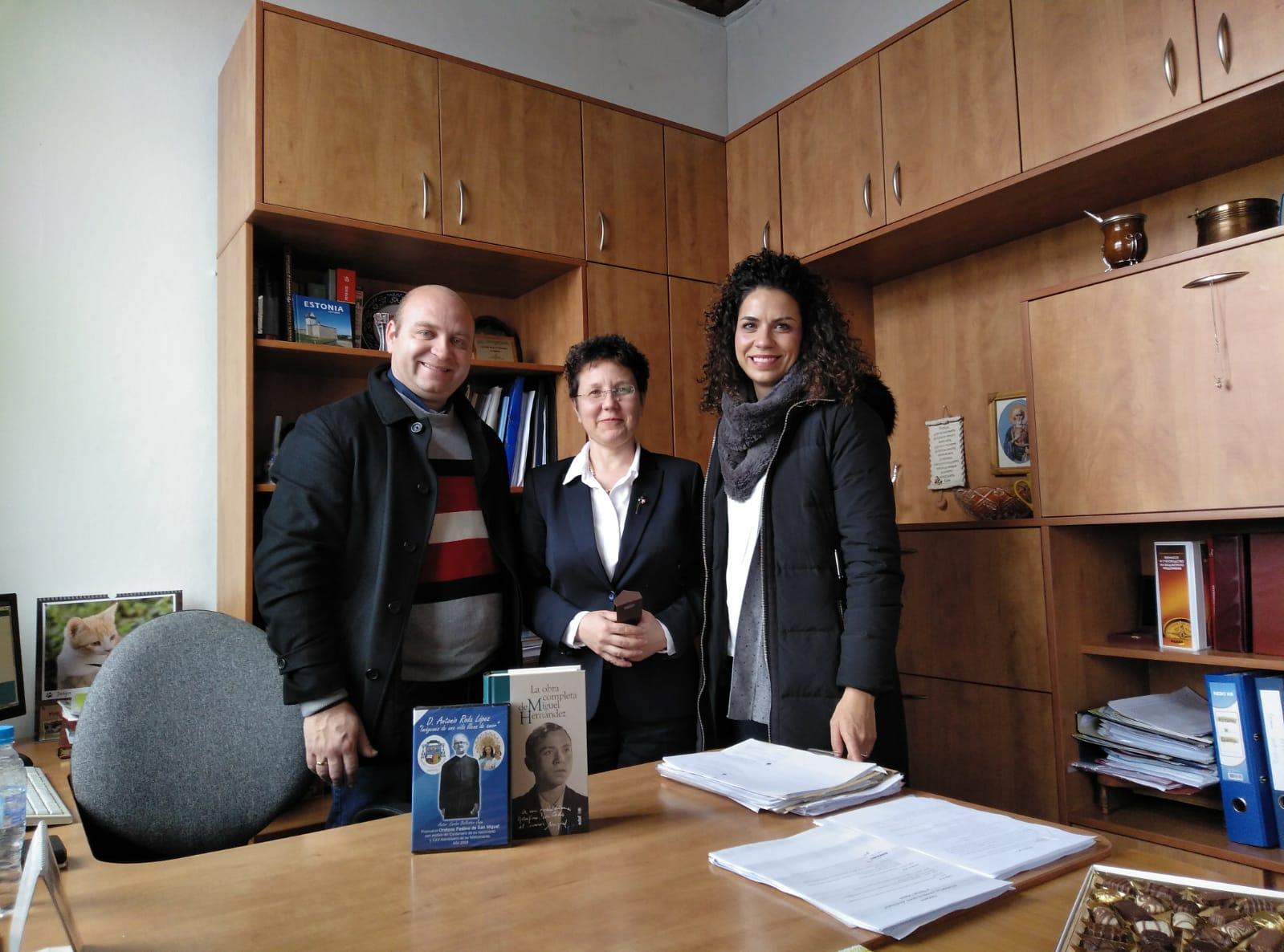 PROYECTO ERASMUS + DE VISITA EN SOFÍA (BULGARIA)