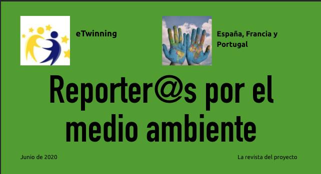 Reporter@s por el medio ambiente